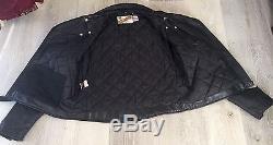 Men's Vintage Schott Perfecto Leather Motorcycle Jacket
