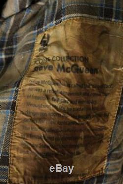 Mens BELSTAFF Steve McQueen 1964 WAXED Motorcycle Jacket Size Large