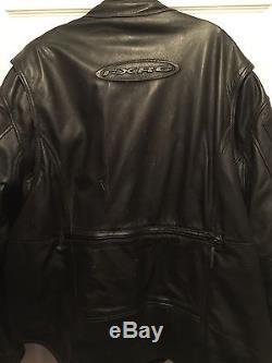 Mens Harley Davidson FXRG Leather Jacket Sized XXL/2XL