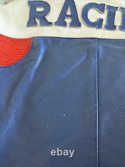 Mens Suzuki Leather Motorcycle Racing Jacket See Measurements
