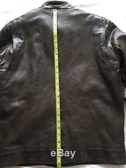 Mens burberry leather jacket