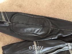 Mens harley leather jacket xl Luminator 360