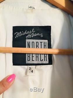 Michael Hoban Leather Jacket 3/4 XS/S North Beach Vintage