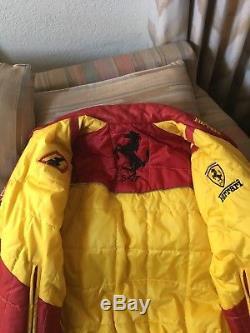 Nice leather Ferrari jacket custom