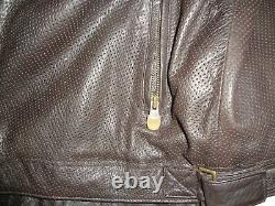 Nike SB Sneakers Only Leather Biker Jacket Size XL Moto Travis Rare Supreme