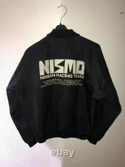Nismo Old Logo MA1 Bomber Jacket Windbreaker Rare JDM 90s Skyline 240SX R32 S13