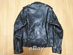 Perfecto schott 618 34 steerhide leather double motorcycle jacket racer 641