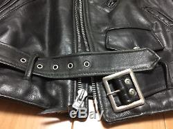 Perfecto schott 618 36 steerhide leather double motorcycle jacket racer 641