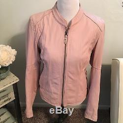 Pink Harley Davidson Jacket And Matching Chaps