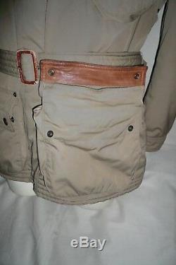 Polo Ralph Lauren Belstaff Style Biker Padded Jacket, L