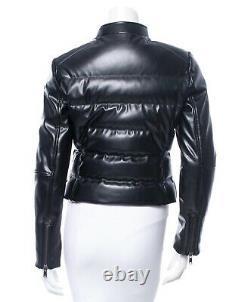 Prada black down coat/jacket size 42