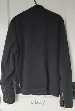 Private White VC Polartec Fleece British Calf Skin Suede Jacket 4/M RRP £695