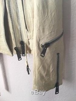 R13 White Leather Jacket Size Small Totokaelo, NET-A-PORTER