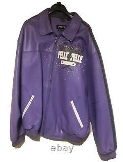 (RARE) Marc Buchanan Pelle Pelle Leather Jacket, size 52