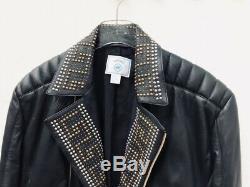RARE! Versace X H&M Black Biker Jacket Size XL / Extra Large