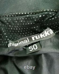 RUKKA Arma Protection GORE-TEX Shell MOTORCYCLE JACKET Size 50 (UK 40) Black