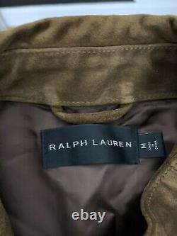 Ralph Lauren Black Label Jacket RRL Cafe Racer Grand Prix Turbo Leather Polo VTG