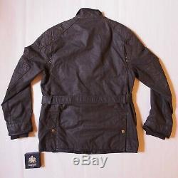 Ralph Lauren Polo Wax Motorcycle Jacket Barbour Belstaff