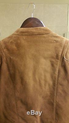 Ralph Lauren Purple Label Men's Suede Biker Jacket