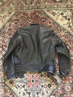 Ralph Lauren RRL x Schott USA Made Limited Edition Leather Biker Jacket