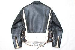 Rare! 1990s Vintage REPRO The Real McCoys Buco J-82 Motorcycle Leather Jacket 3