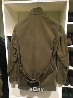 Rare Barbour Steve McQueen International Edition jacket. Size 38 Medium