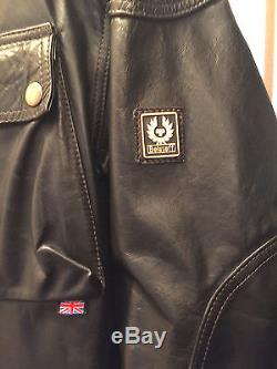@@- Rare Belstafff Panther Leather Jacket @@