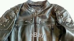 Rare Harley Davidson Thunderhead mens XL leather jacket heavy worn once mint