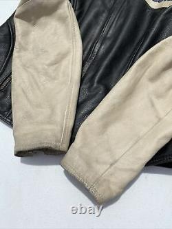 Rare Harley Davidson Womens MISS ENTHUSIAST Leather Jacket Medium