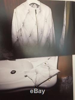Rare Vtg Maison Martin Margiela Couch Leather Jacket 04AW