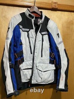 Revit Motorcycle Jacket Adventure Jacket Size Medium Revit with back protector