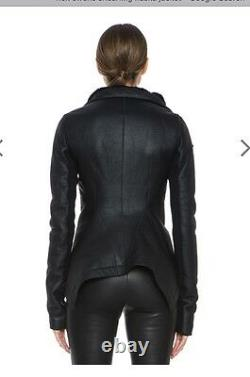 Rick ownes leather jacket
