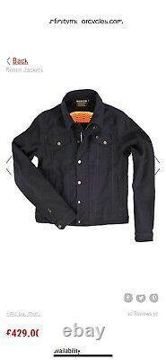 Rokker Black Jacket Plus Protection