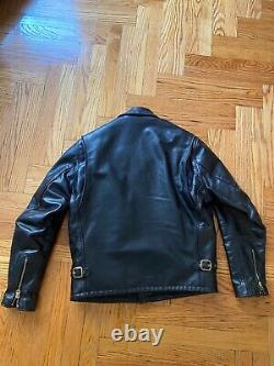 SCHOTT NYC Horsehide Motorcycle Leather Jacket #689H Made in USA