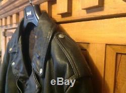 SCHOTT Perfecto 628HV1 XL HORSEHIDE D pocket leather jacket 1928 BECK 48 VINTAGE