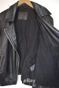STUNNING AllSaints Ladies AYERS Leather Biker Jacket UK12 US8 EU40 Moto