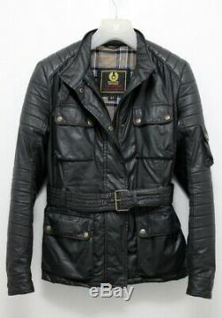 STUNNING Belstaff BLACK PRINCE Woman's Biker Jacket