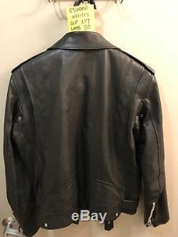 Saint Laurent L17 Leather Jacket 50 Lambskin