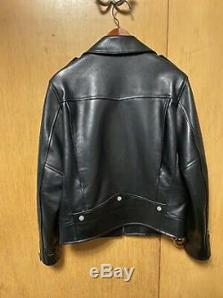 Saint Laurent Paris Classic Moto Leather Jacket L01 Size 50 USED RARE
