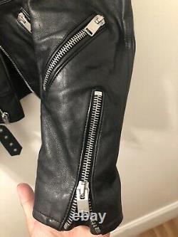 Saint Laurent Paris Ss14 Multi Zip Leather Jacket