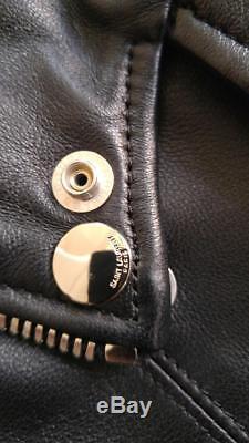 Saint Laurent/YSL leather biker jacket