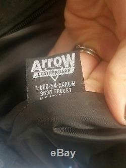 Schott 141 motorcycle jacket, cafe racer style -42