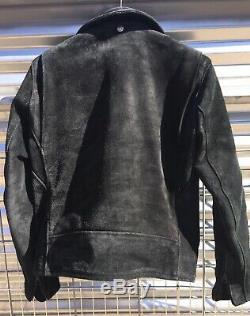 Schott 3Sixteen Perfecto Leather jacket Black Iron Heart Mister Freedom Good Art