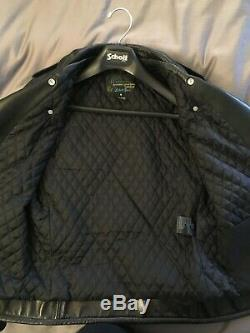 Schott 519 Perfecto Leather Jacket Small, Made in USA