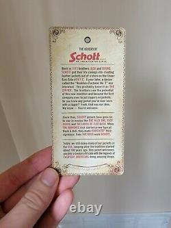 Schott 530 Cafe Racer Leather Jacket Lightly Used