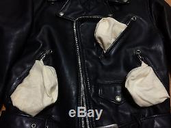 Schott 618 36 perfecto steerhide leather double motorcycle jacket racer 641