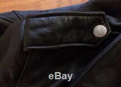 Schott 626 Leather Perfecto Biker Jacket (SMALL) Men