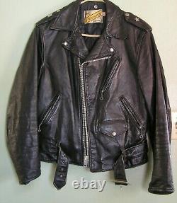Schott Bros One Star Perfecto Motorcycle Jacket, 613, 38