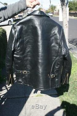 Schott Horsehide Motorcycle Jacket Sz. 40