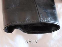 Schott Legendary Black Leather Motorcycle Jacket Size 46 FQHH